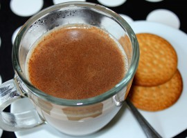 te chai receta, Taza te Chai, galletas maria, notas naturales
