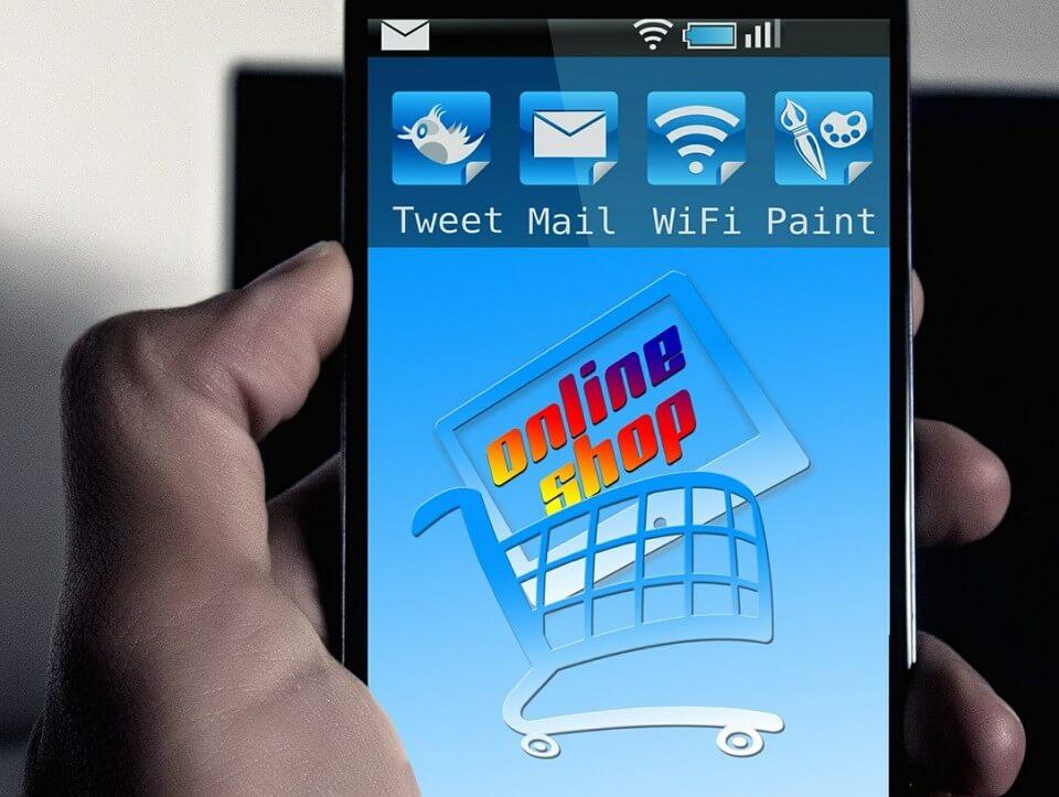 Comprar productos naturales online. Imagen comprar desde Smartphone