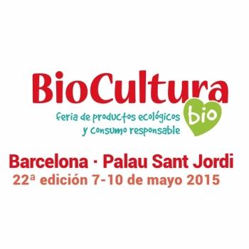 Entrada gratis Biocultura barcelona 2015. Imagen cartel feria 2015