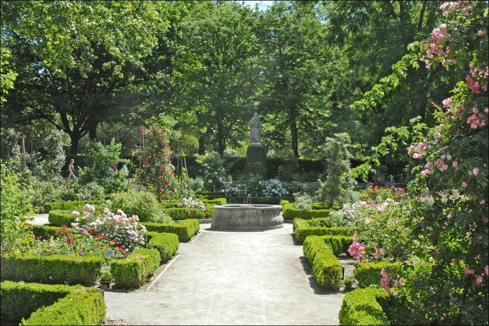 Imagen de uno de los jardines botanicos españa