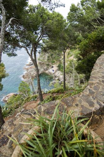 Jardines mediterraneos de cap roig, notas naturales, vegetacion, mediterraneo, mar
