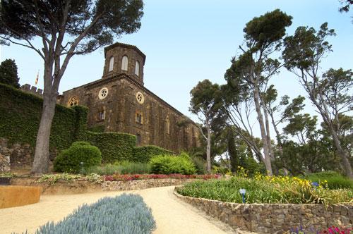 jardines mediterraneos de cap roig, notas naturales, castillo, vegetacion, mediterraneo