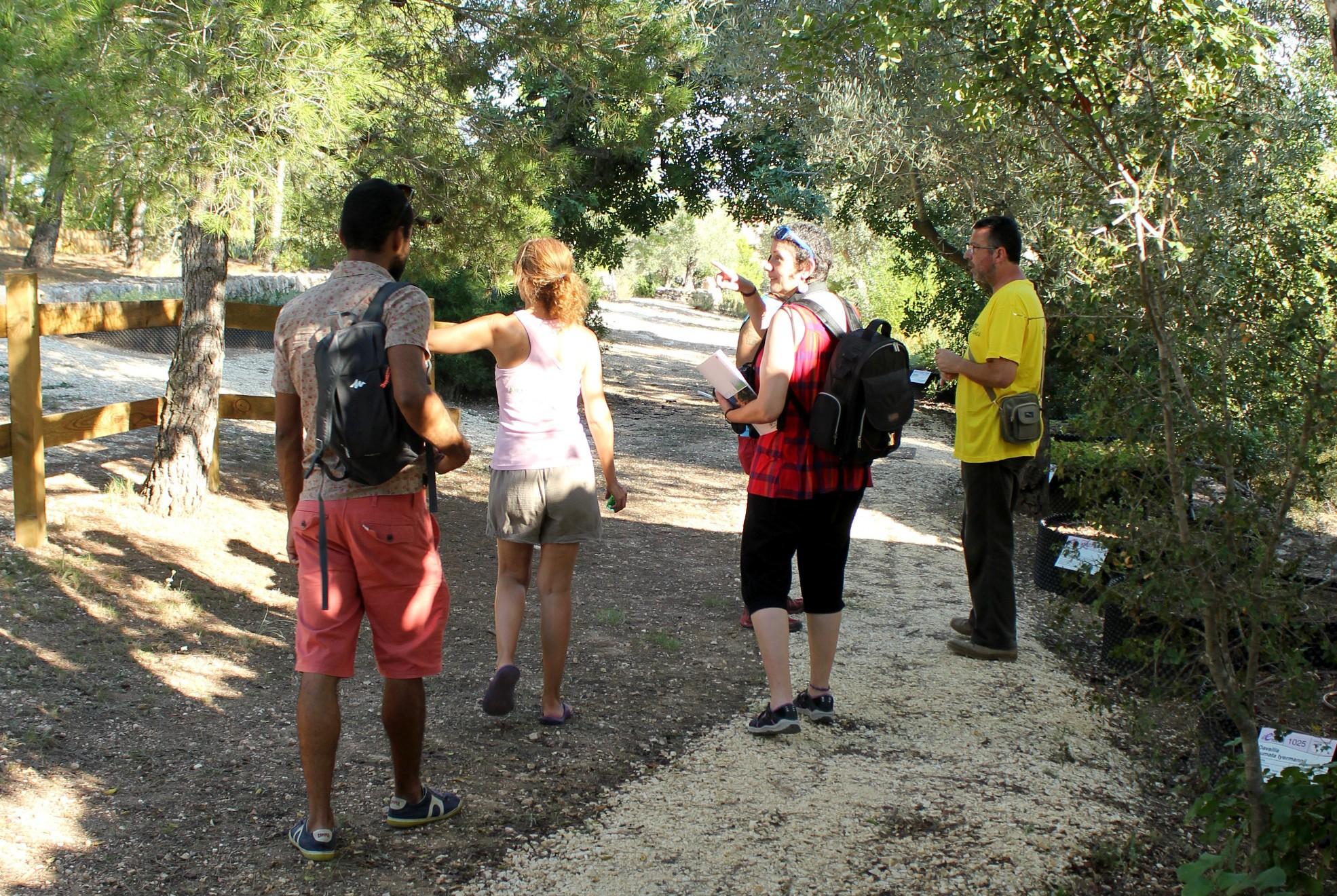 jardin botanico delta del ebro, plantas medicinales, visita guiada, naturaleza, notas naturales