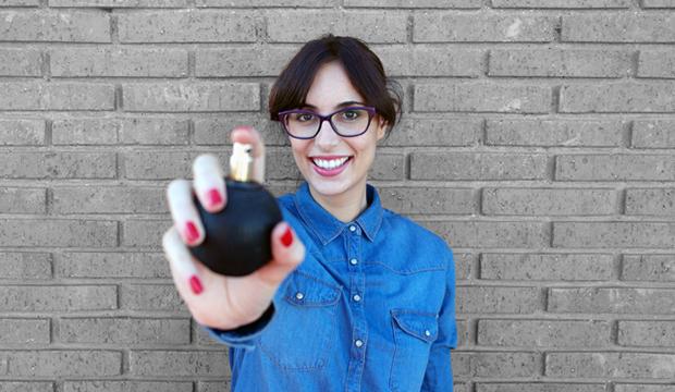 mejores blogs de estilo de vida saludable, Patricia, Notas Naturales, perfume, chica