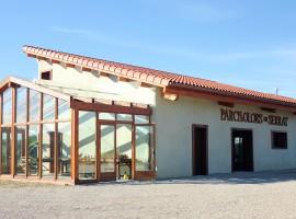 parques de aromas, edificio bioconstruccion, parc de les olors, notas naturales