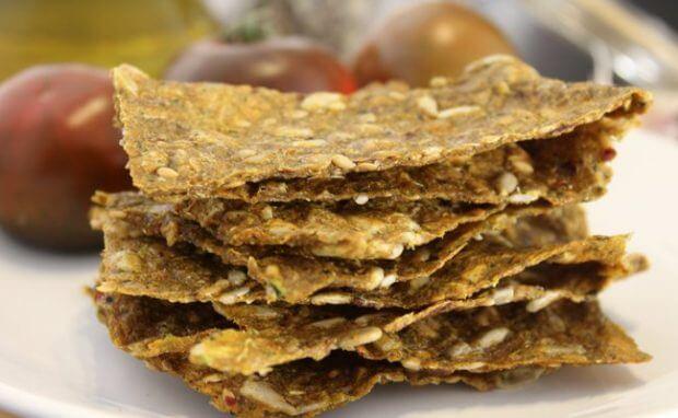 crackers raw, notas naturales