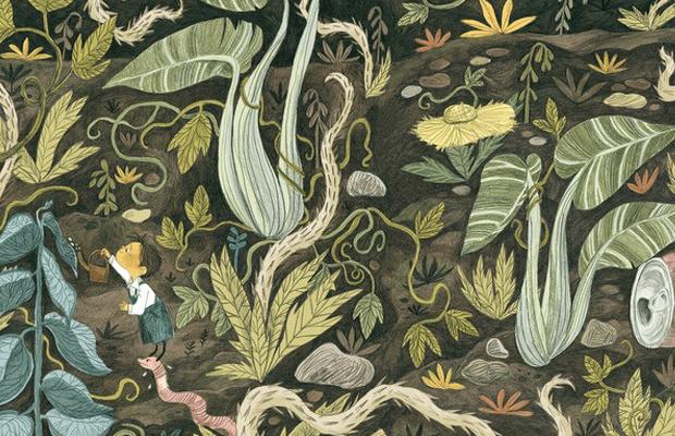 libros para leer, naturaleza, niños, el pequeño jardinero, notasnaturales