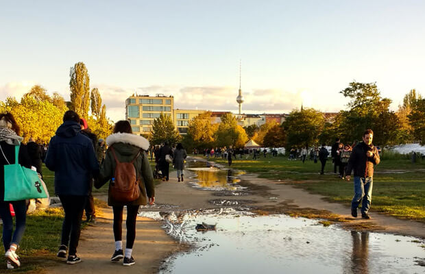 parques de berlin, notas naturales