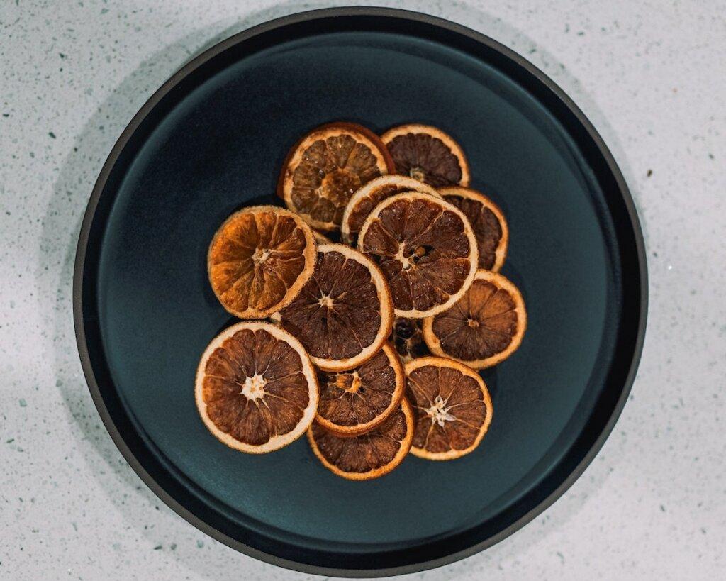 como deshidratar frutas para hacer te