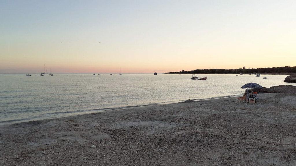 playa putzu idu peninsula de sinis cerdeña, notas naturaleas