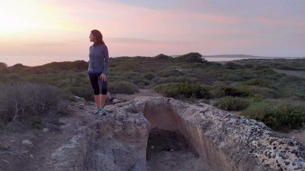 tomba dei giganti, peninsula de sinis cerdeña, notas naturaleas