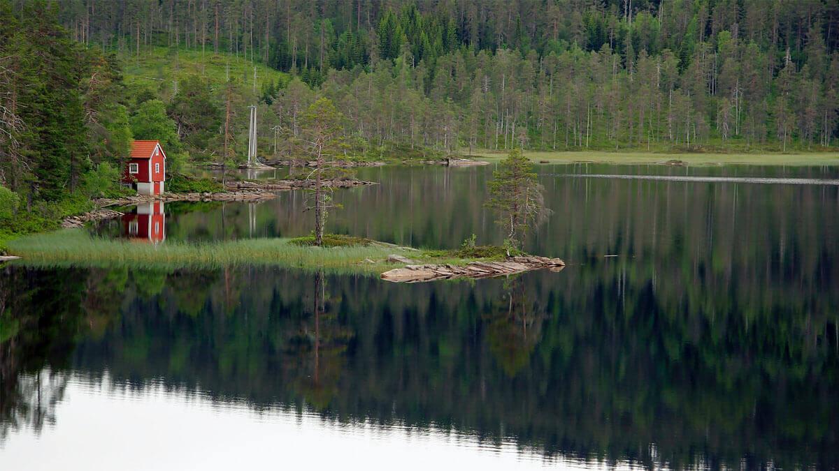 paisaje natural de Noruega